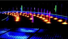 音樂噴泉水底燈