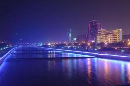 蘭州橋梁河道亮化